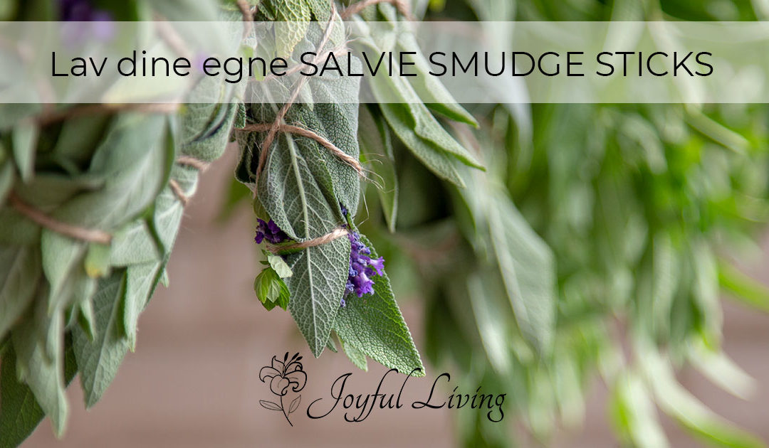 Salvie smudge sticks video guide