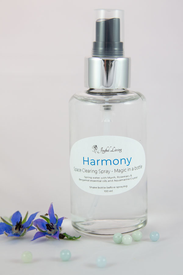 Harmony Space Clearing Spray - Magic in a Bottle
