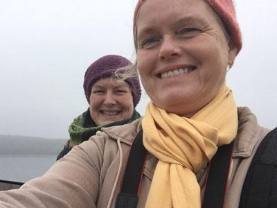 Joyann og Trine Lise