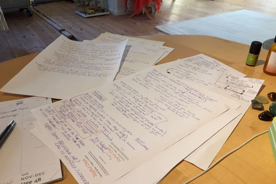 Papirbunker med ideer er en af mine rod-samlere