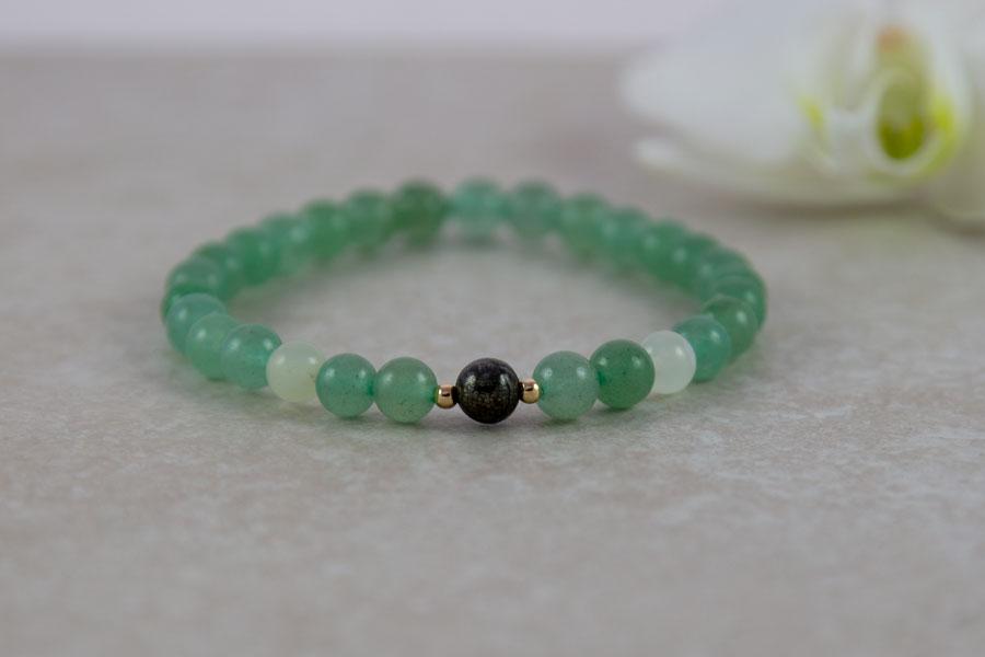 Aventurin og grøn jade - manifestation