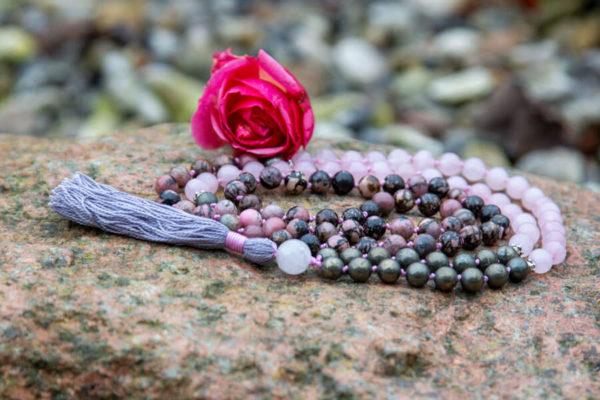 Rhodonit mala - overflod af kærlighed