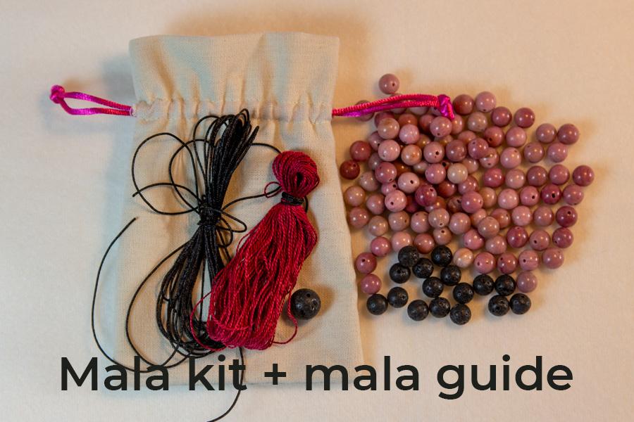 Mala kit + mala guide