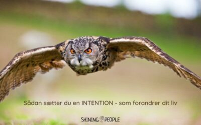 Sådan sætter du en intention som forandrer dit liv