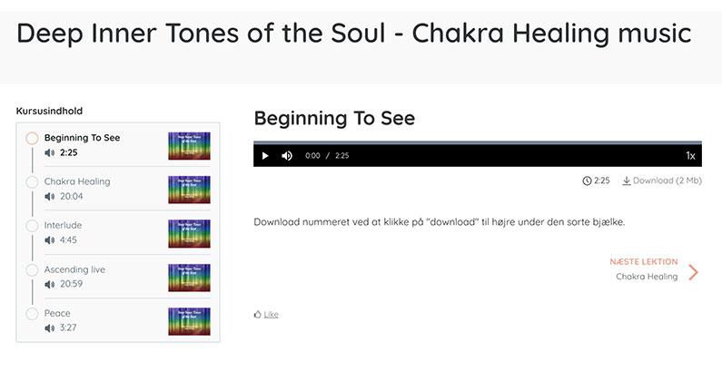 Download af musiknummer