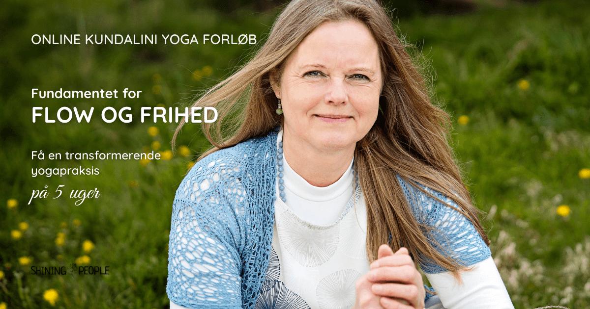 Online kundalini yoga forløb