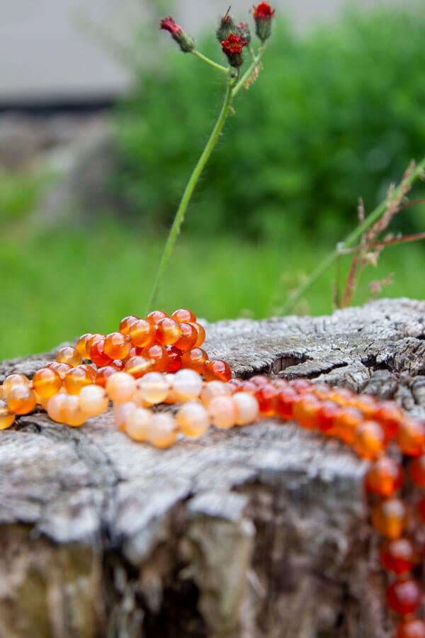 Hara chakra mala meditationskæde